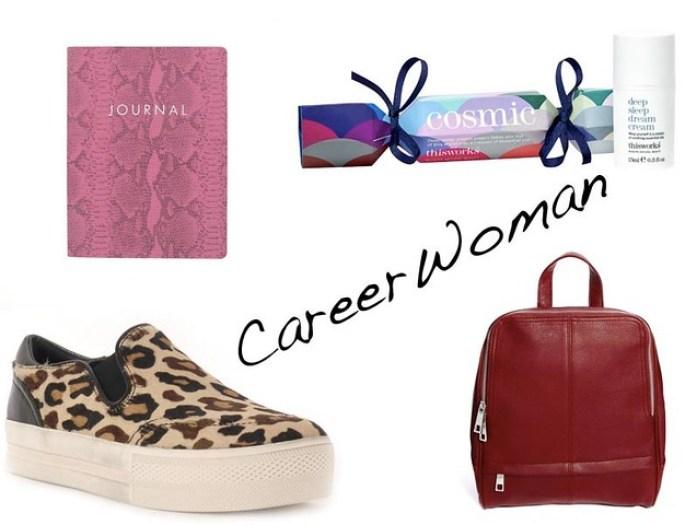 christmas gift guide career woman