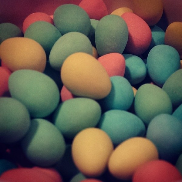 IT HAS BEGUN #minieggs #easter