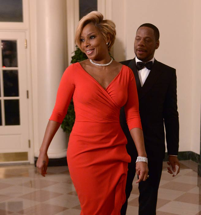 Singer Mary J. Blige is among the list of stars invited to the state dinner for French President Francois Hollande