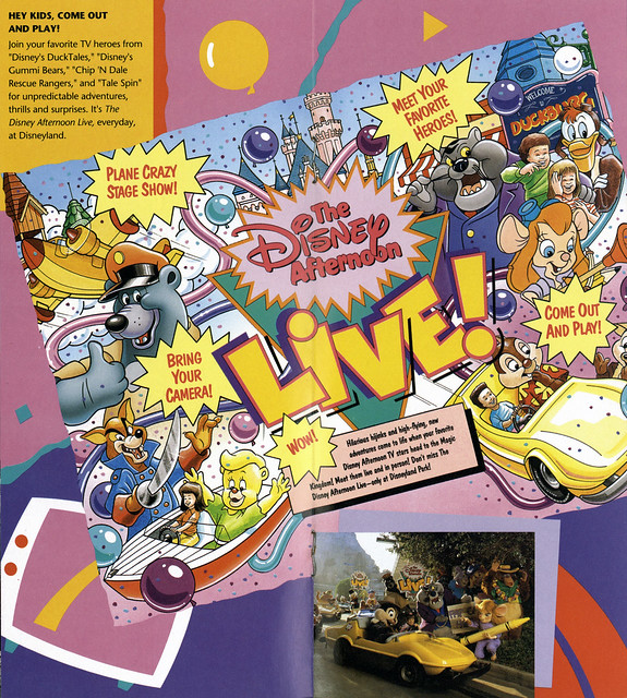 1991 Disney Afternoon Live at Disneyland 04  The Disney Afternoon  Flickr  Photo Sharing