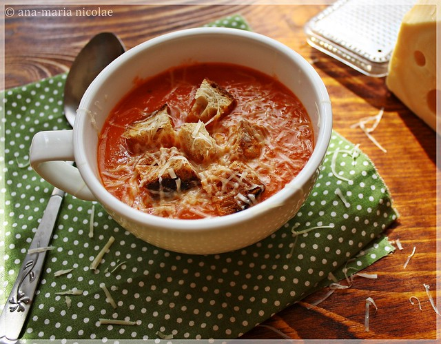 Baked tomato soup