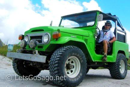 The 4x4 Jeep @ Mt. Pinatubo