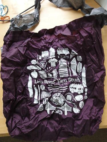 Lion Brand Tote Bag