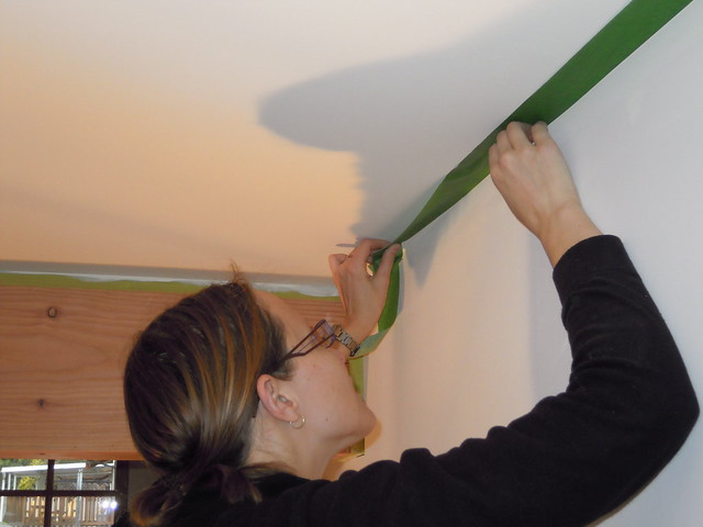 Mar 16 - painting and taping