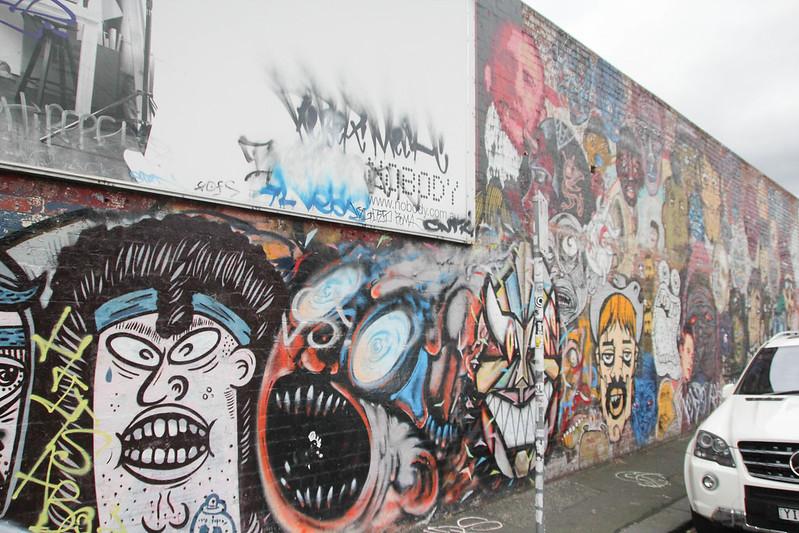 Street art in Fitzroy