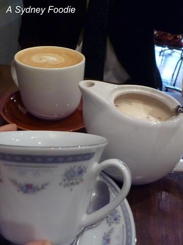 Drinks at Fleetwood macchiato