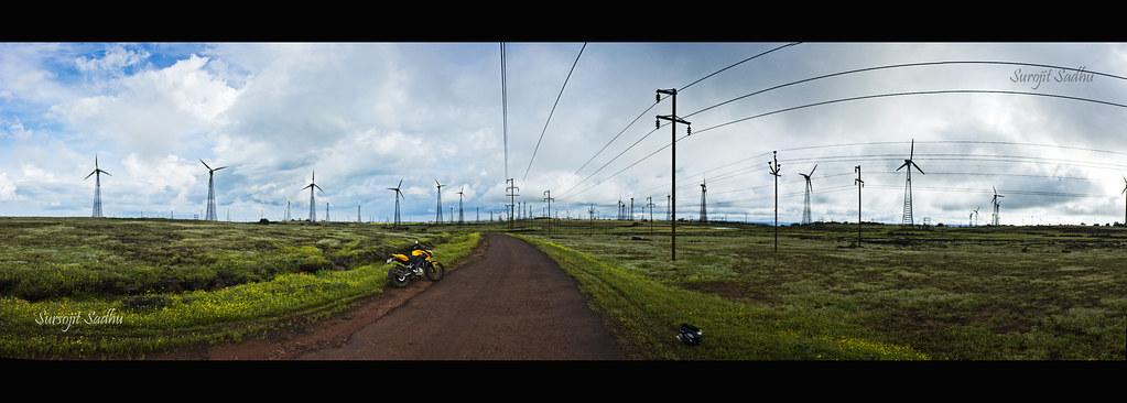 Thoseghar Windmills Panorama