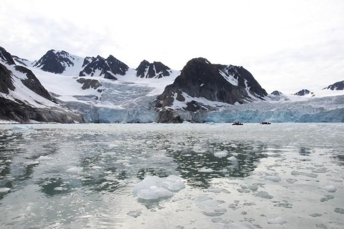 Hamiltonbukta Glacier, Svalbard, Arctic