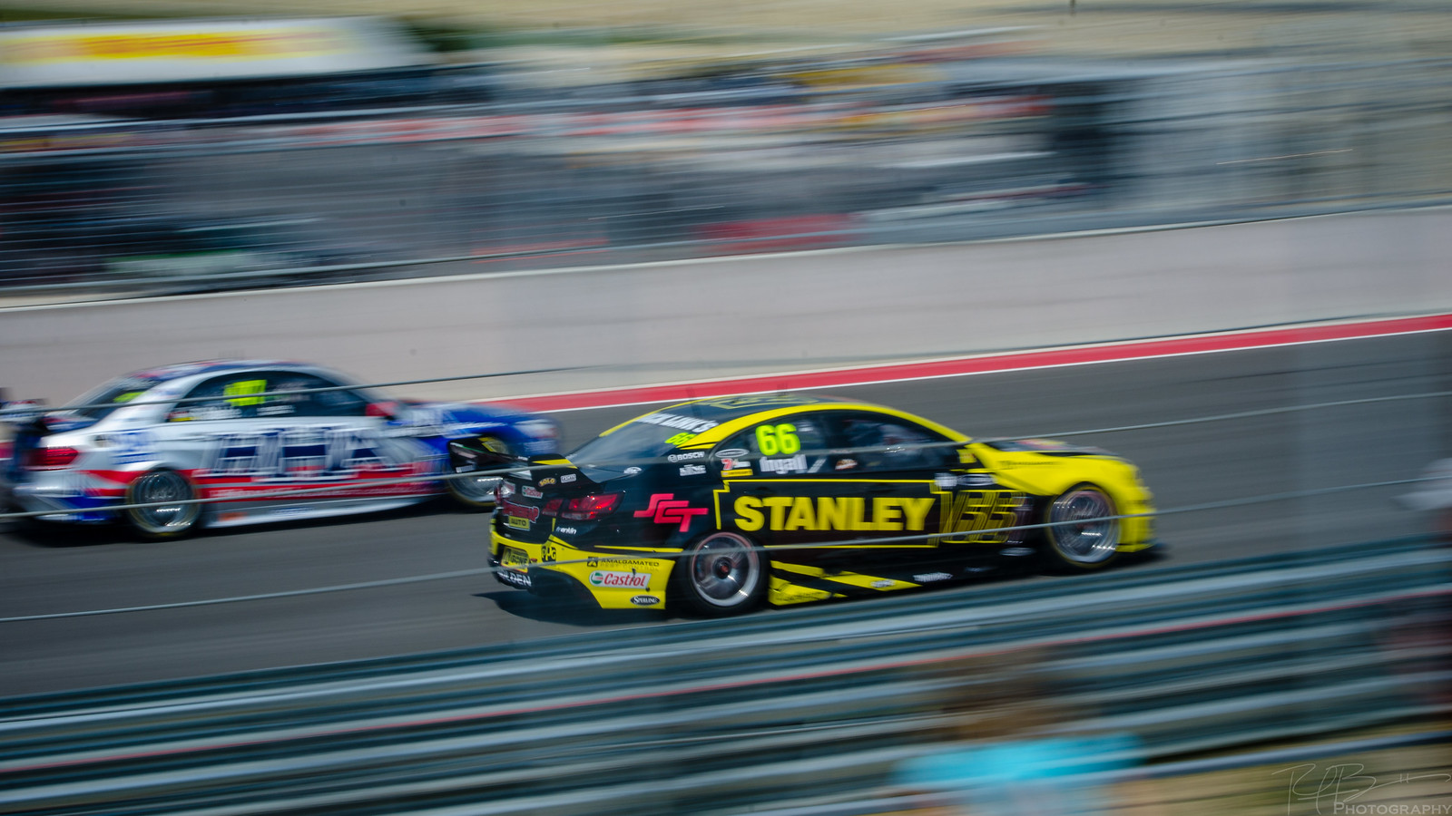 Russell Ingall and Tim Slade
