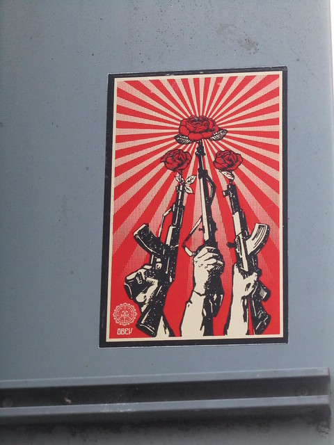 Obey sticker - Shepard Fairey