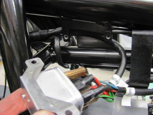 Routing Headlight Branch Behind Bracket to Starter Relay