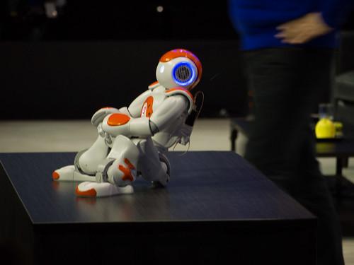 LeWeb'13, Aldebaran Robot 1
