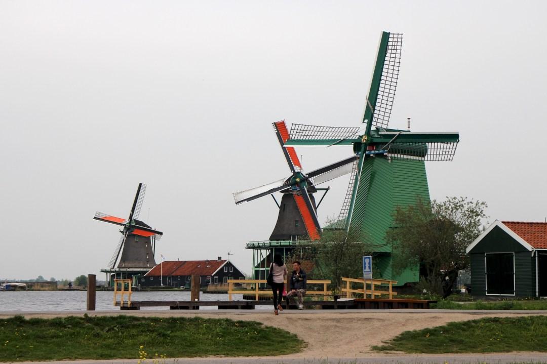 Windmills of Zaanse Schans