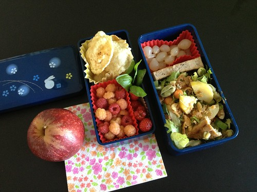 Easy Summer Meal Bento #209