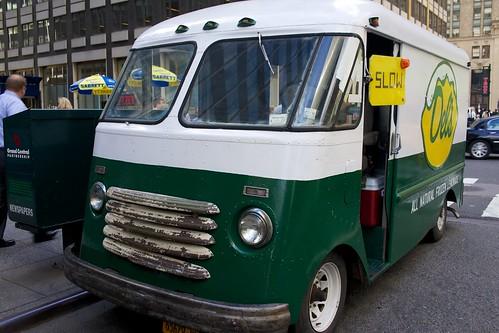 Cute Del's Truck by Mark Bylok