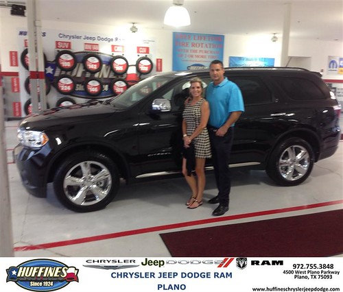 Thank You To Roy Kuppenbender On Your New 2013 Dodge Durango From Billy  Bolding And Everyone At Huffines Chrysler Jeep Dodge RAM Plano!