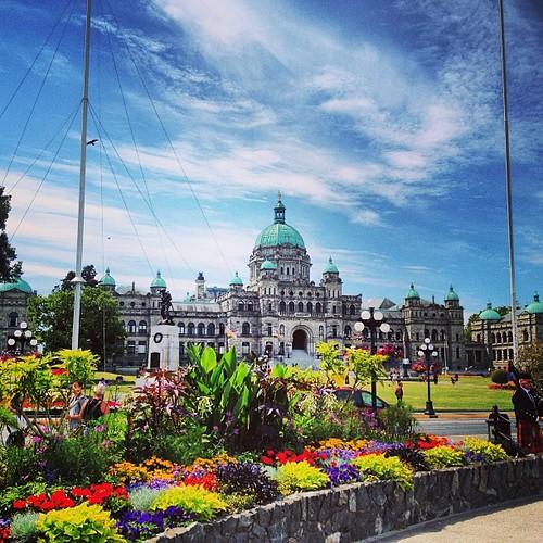 Legislative Building Victoria BC by @MySoDotCom