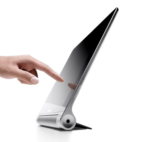 Yoga Tablet Stand Mode