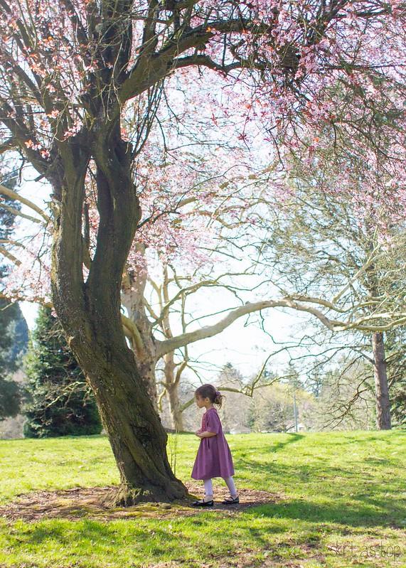 springtime hide and seek dress