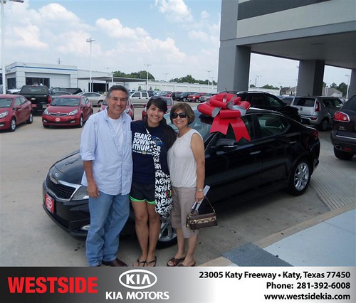 Westside KIA Houston Texas Customer Reviews and Testimonials - Gilbert Garcia by Westside KIA