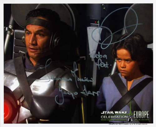 014 and 015-Daniel Logan and Temura Morrison-Boba and Jango Fett