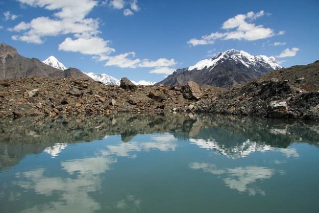Day 3, Camp Glina to Merzbacher Station. South Inylchek Glacier Trek