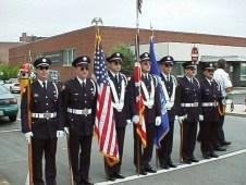 Honor Guard Parade lineup