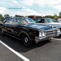 1965 Oldsmobile Jetstar I at the New Hope Car Show 2013