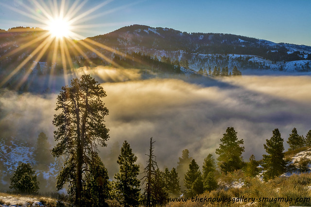 Mountain View Wallpaper Hd Sunrise Near Bogus Basin With Inversion Flickr Photo