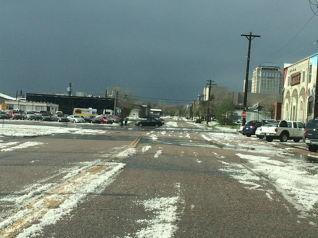 Picture from May Hailstorm In Colorado Springs