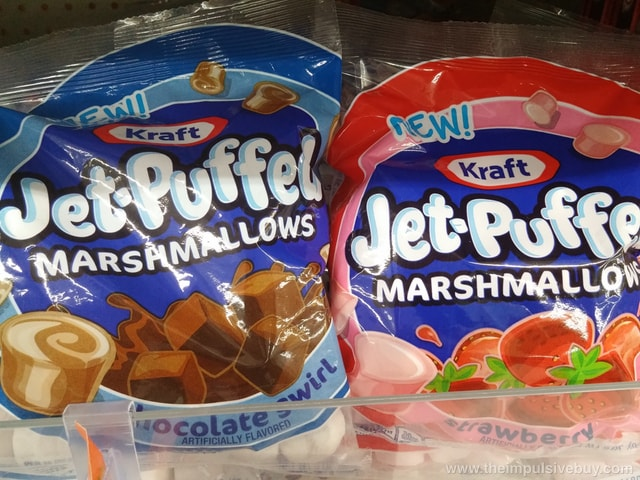 Kraft Jet-Puffed Snacking Marshmallows (Chocolate Swirl and Strawberry)