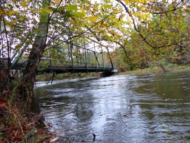 Gunpowder River Flooding at the Masemore Rd Bridge
