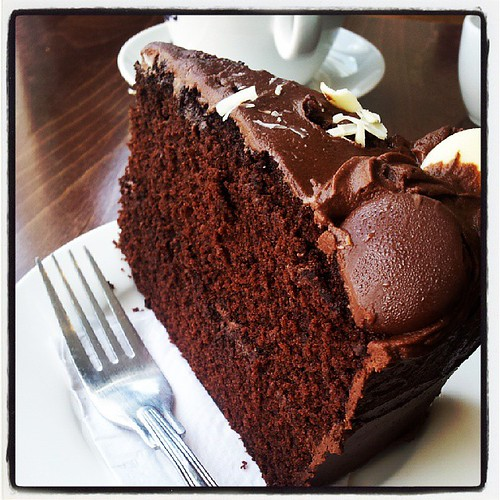 #chocolate #cake by South Downs MTB Skills