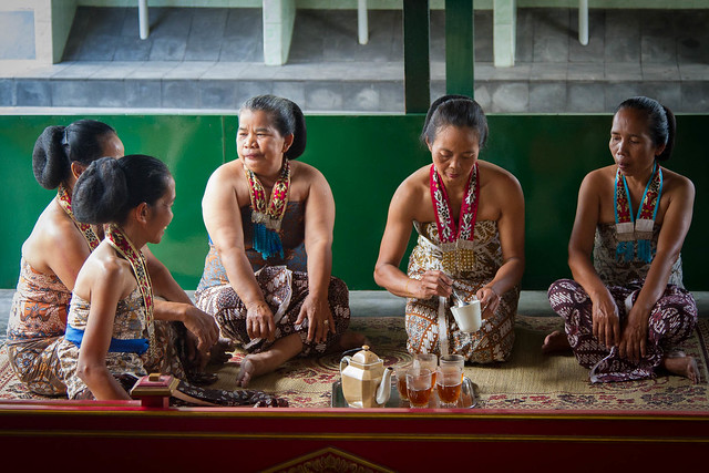Tea Ladies of the Sultan Palace, Yogyakarta