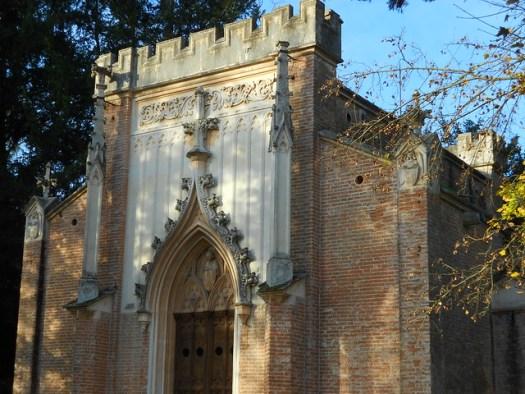 Cappella funeraria, Villa Pisani, architetto Pietro Selvatico, Vescovana
