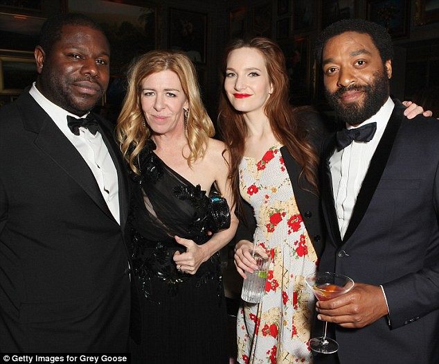 Chiwetel bafta after party