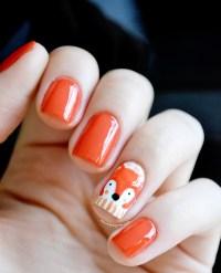 Foto tutorial: Fox nail art + Desafio Capricho | O Mundo ...