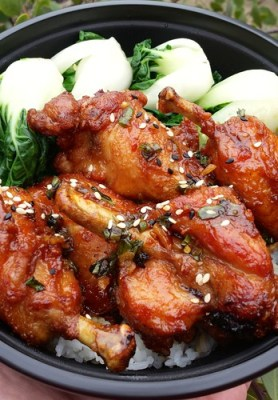 Lollipop Chicken from Mama Chow's Kitchen