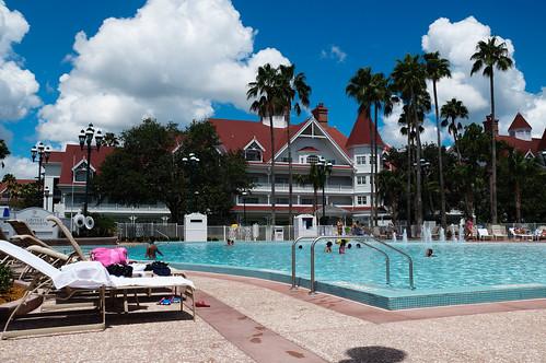 The Pool at Disney's Grand Floridian Resort, Walt Disney World, Orlando, Florida