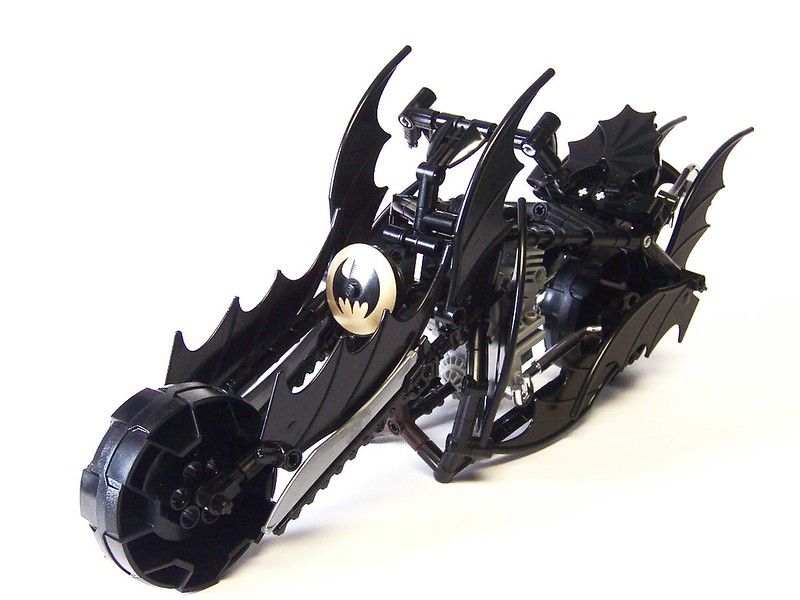 Technic Bat-Cycle