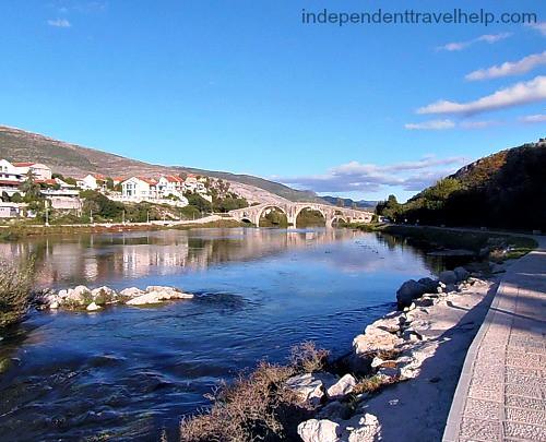 The Trebišnjica river.
