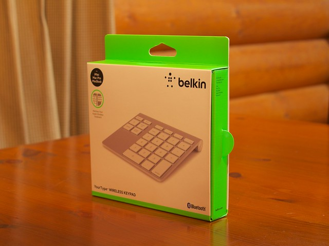 Belkin YourType™ WIRELESS KEYPAD