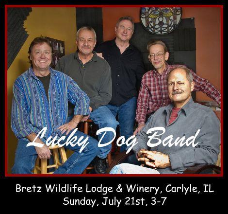 Lucky Dog Band 7-21-13
