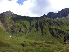 Abstieg Brixner Hütte Richtung Tal
