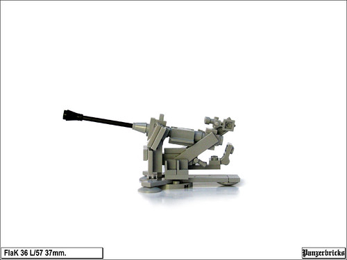 FlaK 36 de 37mm. de Panzerbricks