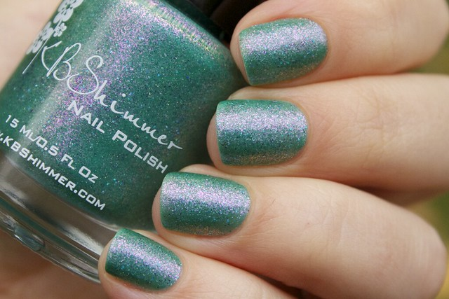 14 KBShimmer Teal Another Tail swatches