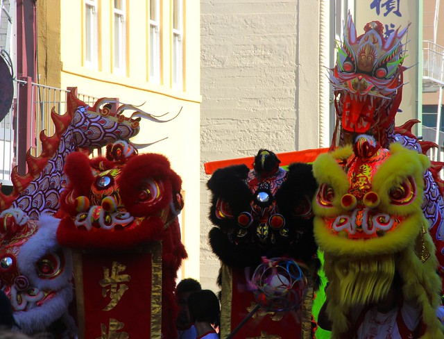 Chinese New Year Parade 2014 at San Francisco Chinatown