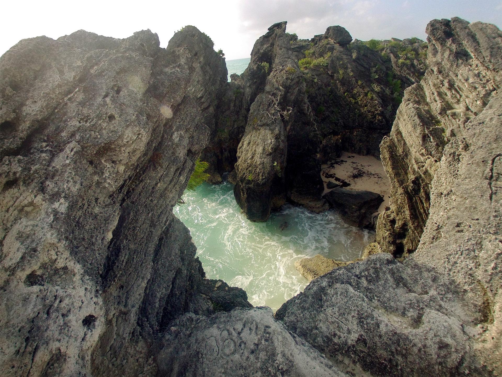 Stonehole Bay, Bermuda.