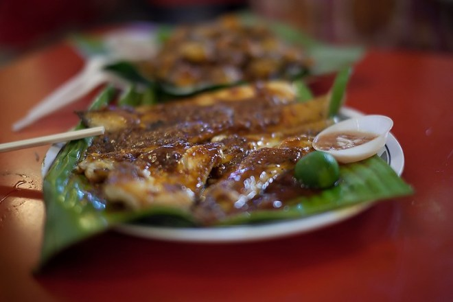 Sambal Stingray from Adam Road Food  Centre