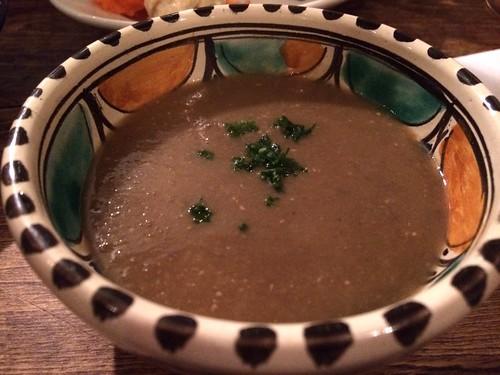スーダン風レンズ豆のスープ@ロス・バルバドス